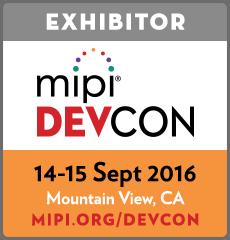 MIPI DevCon Exhibitor