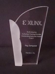 Xilinx Outstanding Instructor Award