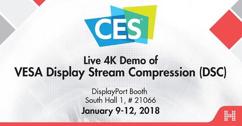 VESA DSC IP Cores For Video Compression